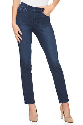 five pocket slim ankle jean