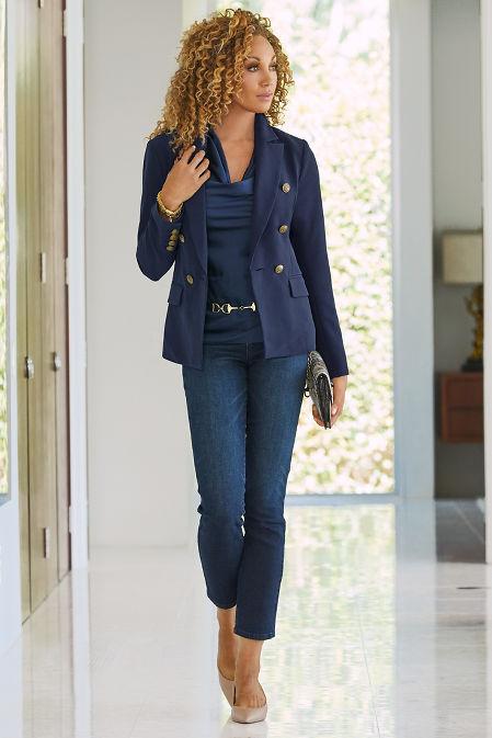 Five Pocket Slim Ankle Jean image