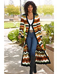 Striped Pattern Duster Photo