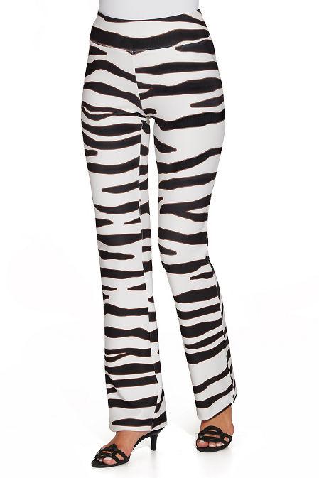 Beyond travel™ zebra pant image