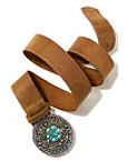 Multi Turquoise Buckle Belt Photo