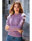 Cutout Long-sleeve Sweater Photo