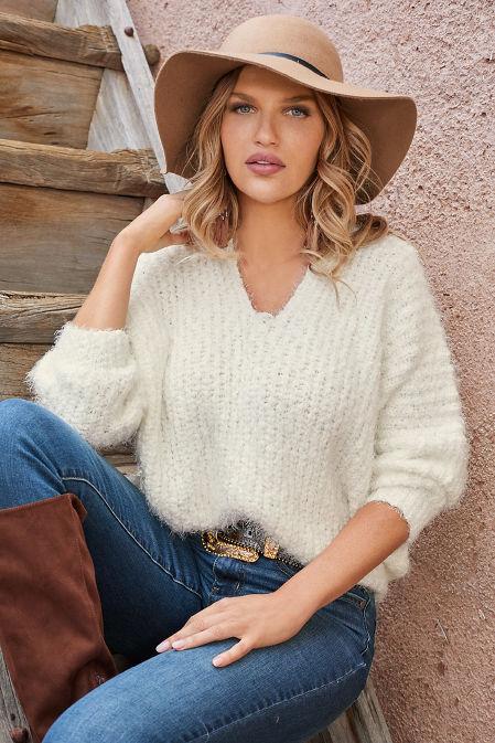 Cozy V-Neck Sweater image