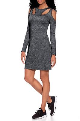 Cold Shoulder Cutout Sport Dress
