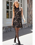Embroidered Tweed Dress Photo