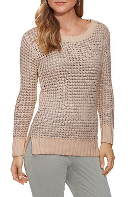 Shimmer Long-Sleeve Sweater