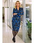 Long-sleeve Chain Print Dress Photo