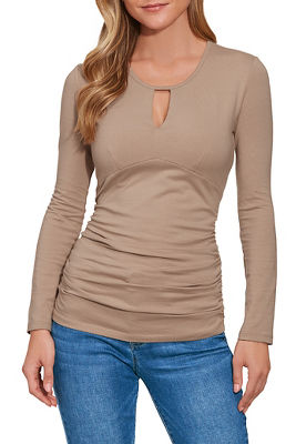 so sexy™ keyhole ruched top