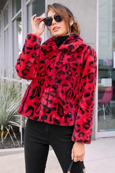 Leopard Faux-Fur Chubby image