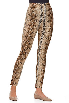 python print pull-on legging