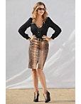 Python Print Midi Skirt Photo