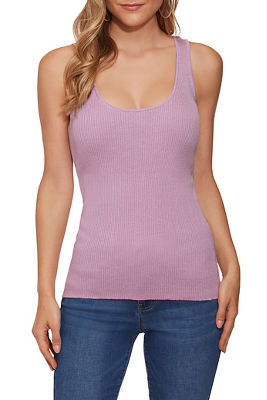 Ribbed Sweater Shell