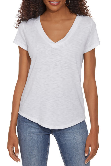 V-Neck Casual Tee image