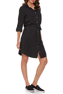 Urban Utility Shirt Dress