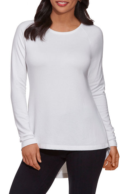 So Soft High-Low Tunic Top image