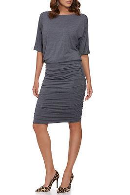 Blouson Ruched Dress
