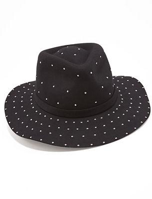 studded fedora hat