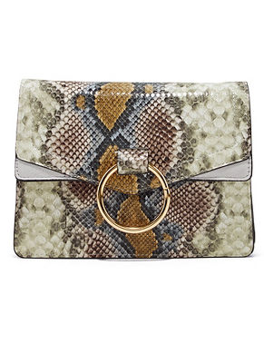python print crossbody bag