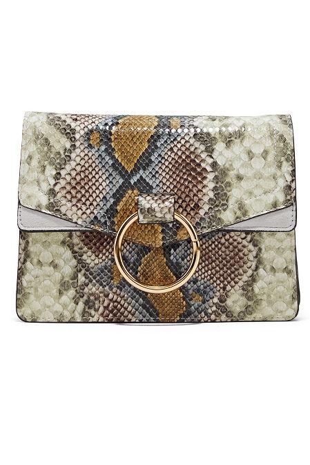 Python Print Crossbody Bag image