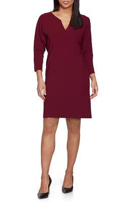 Beyond Travel™ V-Neck Shift Dress