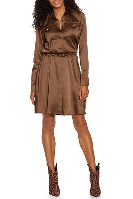 Charm Shirt Dress