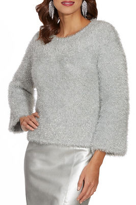 Shimmer Plush Sweater