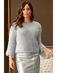 Shimmer Plush Sweater Photo