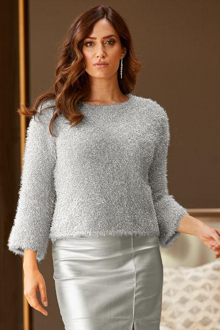 Shimmer Plush Sweater image