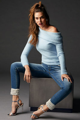 Plush Slouchy Long-Sleeve Sweater
