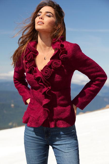 Rosette and Ruffle Jacket image