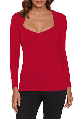 So Sexy™ Sweetheart Neck Top