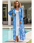 Printed Jeweled Duster Photo