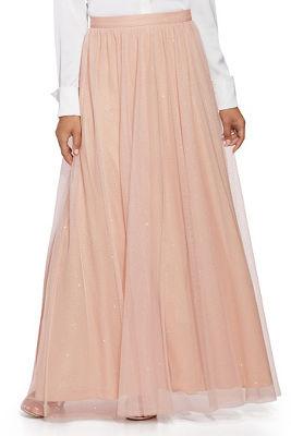 Sparkle Tulle Maxi Skirt