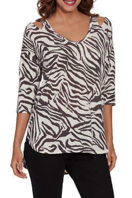 So Soft Zebra Top