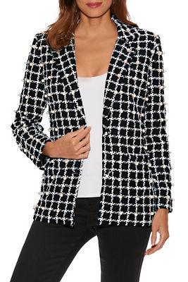 Pearl Embellished Tweed Jacket