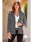 Pearl Embellished Tweed Jacket Photo