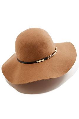 Metal Chain Floppy Hat
