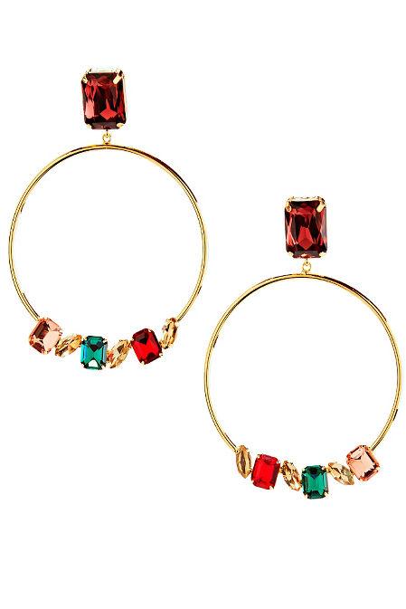 Royal Gemstone Earrings image
