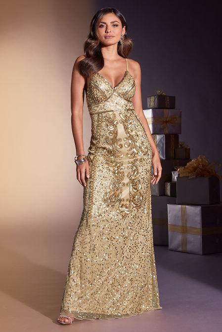 Embellished Maxi Dress image