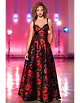 Floral Ball Gown Photo