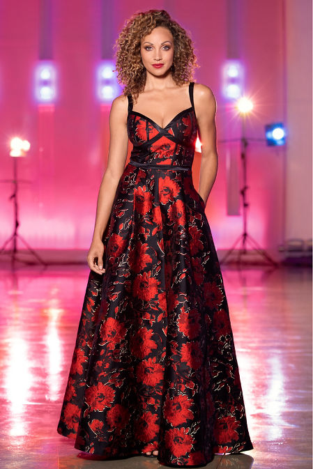 Floral Ball Gown image